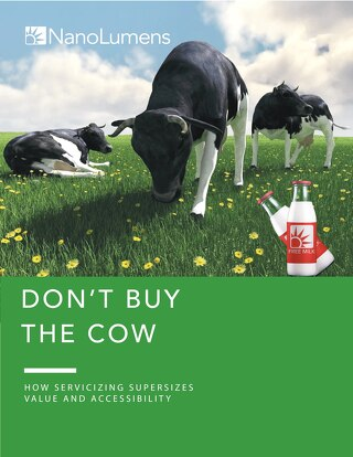 Don't Buy The Cow: How Servicizing Supersizes Value And Accessibility