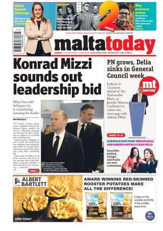 MALTATODAY 3 March 2019