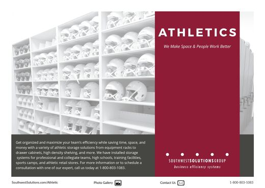 Athletics Products Overview