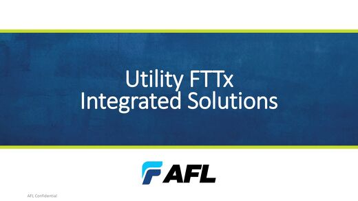 FTTx for Utilities