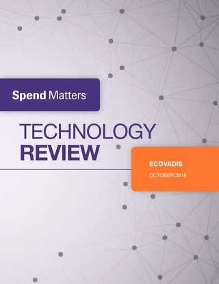Spend Matters Technology Review of EcoVadis