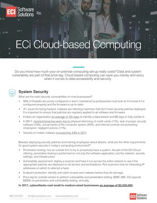 Real Savings of Cloud-based Computing