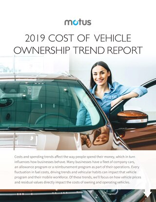 Motus 2019 Cost of Vehicle Ownership Report