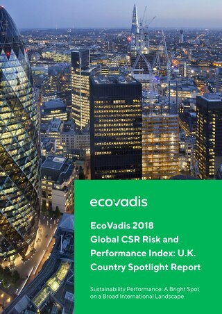 UK Spotlight Report: EcoVadis 2018 Global CSR Risk and Performance Index