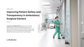 Surgical Care Affiliates - Improving Patient Safety and Transparency in Ambulatory Surgical Centers