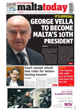 MALTATODAY 6 March 2018 Midweek