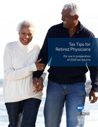 Tax Tips for Retired Physicians
