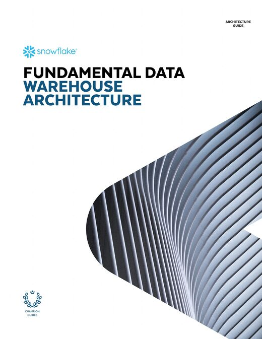 Fundamental Data Warehouse Architecture Guide