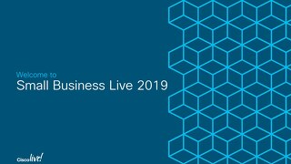 Small Business Live 2019 Afternoon Session