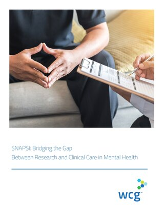 SNAPSI: Bridging the Gap Between Research and Clinical Care in Mental Health