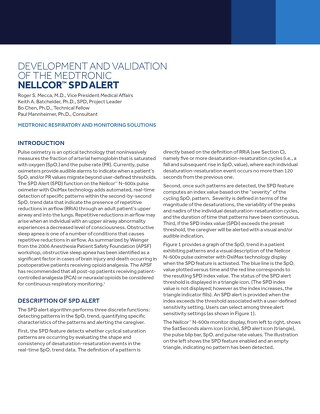 White Paper: Nellcor™ Saturation Pattern Detection [Read More]