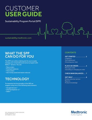 User Guide: Nellcor™ Sustainability Customer User Guide [Read More]