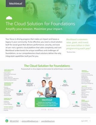 Foundations Total Solution Datasheet