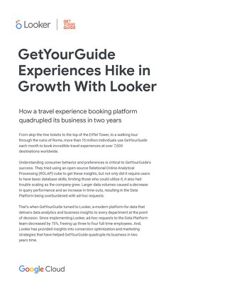 GetYourGuide Case Study