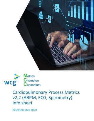 MCC: Cardiopulmonary Performance Metrics v2.1 At-A-Glance