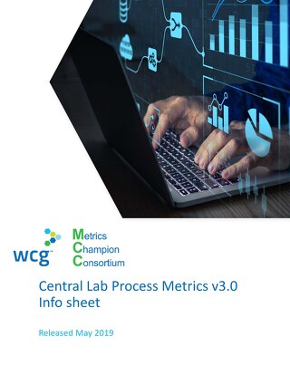MCC Lab Performance Metrics v2.1 At-A-Glance (Central Lab/Sponsor/Site/Courier performance)