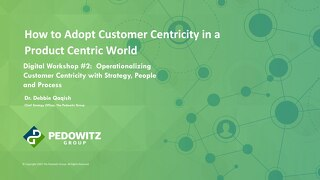 Workshop Slides: Customer Centric Workshop Series - Session 2