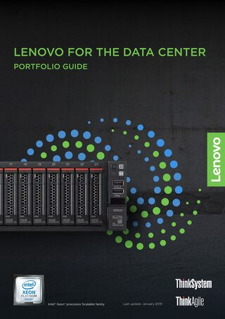 Lenovo for the Data Center Portfolio Guide