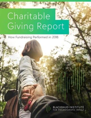 2018 Charitable Giving Report