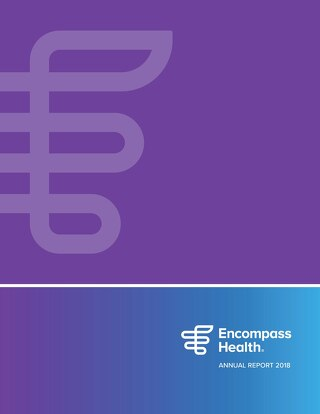 2018 Encompass Health Annual Report