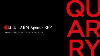 Quarry's ABM RFP response for JLL