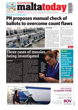 MALTATODAY 20 March 2019 Midweek