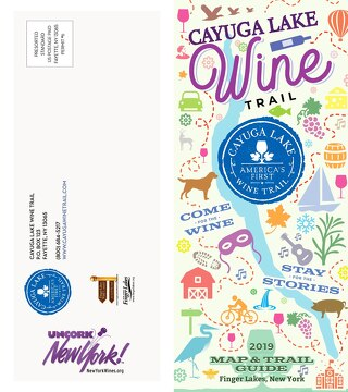 2019 Cayuga Lake Wine Trail Brochure