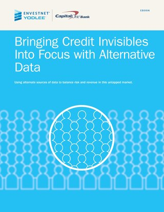 Bringing Credit Invisibles Into Focus with Alternative Data