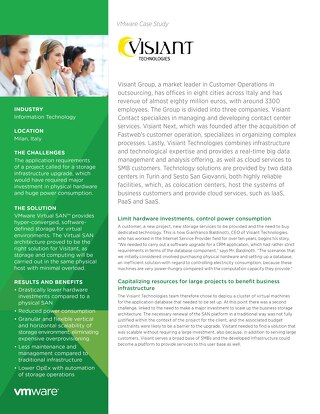 Case Study: VMWare x Visiant Group