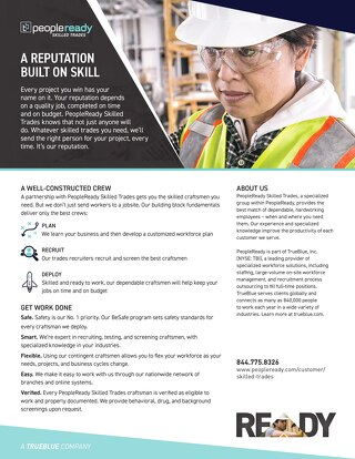 Skilled Trades General - Sell Sheet
