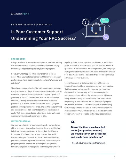 Is Poor Customer Support Undermining Your PPC Success? [Pains Series Doc]