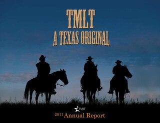 TMLT Annual Report 2011