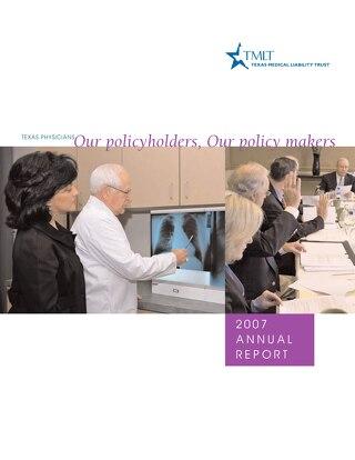 TMLT Annual Report 2007