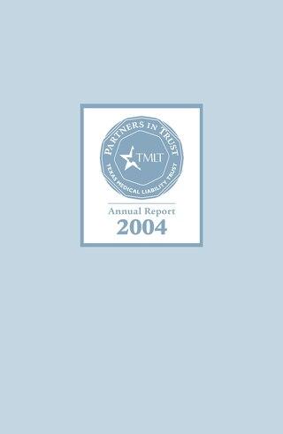 TMLT Annual Report 2004