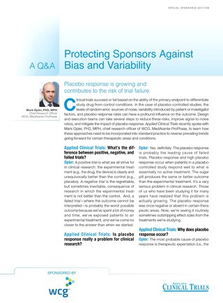 Protecting Sponsors Against Bias and Variability