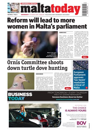 MALTATODAY 27 March 2019 Midweek opt