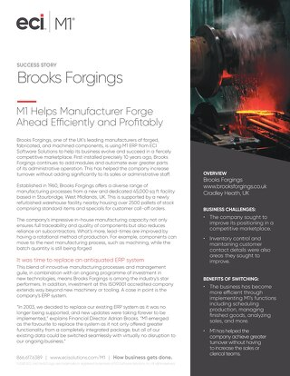 Brooks Forgings