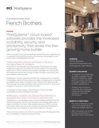 Case Study: French Brothers
