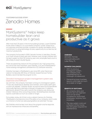 Case Study: Zenodro Homes