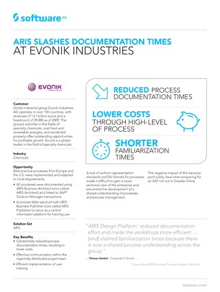 Evonik Industries reduces process documentation time