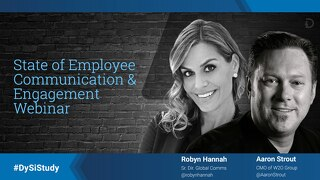 State of Employee Communication and Engagement Webinar (Slide Presentation)