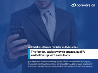 AI For Sales and Marketing to Engage Leads