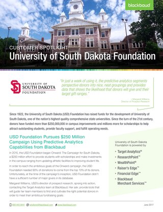 University of South Dakota Foundation