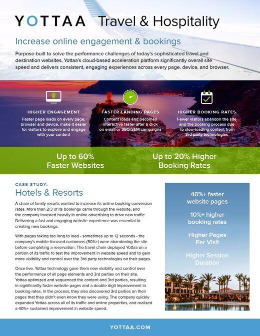 Solution Sheet: Travel & Hospitality