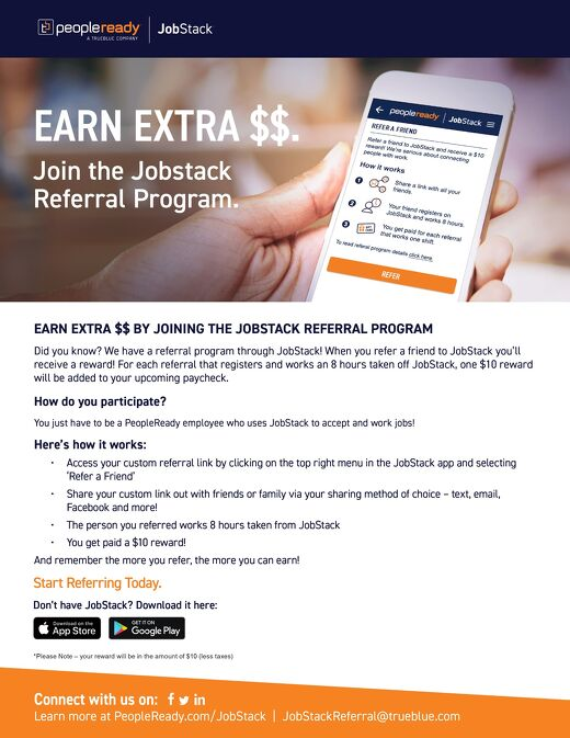 JS Associate Referral Flyer