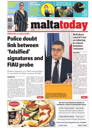 MALTATODAY 31 March 2019
