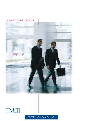 TMLT Annual Report 1999