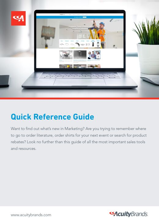 Sales Tool Quick Reference Guide