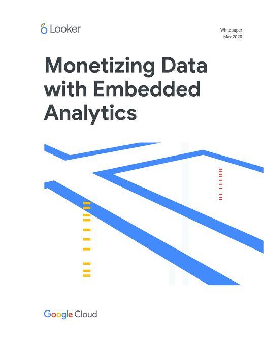 Monetizing Data with Embedded Analytics