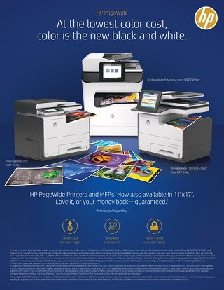 HP PageWide Money Back Guarantee